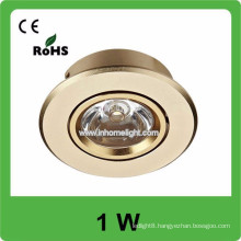 1W high power AC85v-265v 110LM/W Led celling light lamp