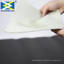 Waterproof 1 Cloth 1 Membrane Composite Geomembrane With Non woven Geotextile