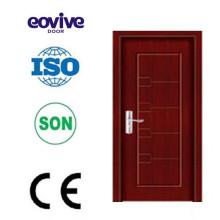 Design de painel de uma porta de madeira