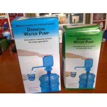 Bomba de agua potable de la bomba HWP001 Prensa de mano manual de la bomba del dispensador de agua embotellada de 5-6 galones
