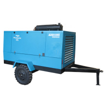 Mobile Outdoor Electric Driven Portable Construction Screw Air Compressor (PUE5513)