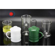 Кружка и чашка из различных видов стекла