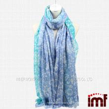 Azul Verde Oversize Cashmere Bufandas