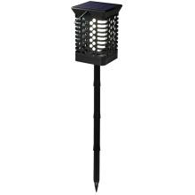 Lanterna Leds cintilante de luz de chama com estaca longa