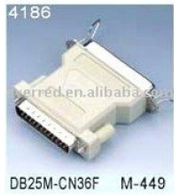 Adaptador de impresora DB25M a CEN36F (4186)