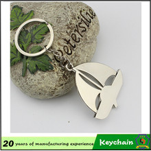 Cheap Zinc Alloy Custom Made Sail Boat Keychain