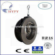 PN10/PN16 flap check valve with cast iron body