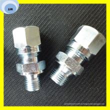 Adaptador de eslabón giratorio de manguera para tubo de tipo mordedura de rosca 2c