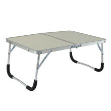 Lightweight folding bed study bed table useful folding table metal leg laptop mini table