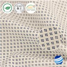 104gsm hilados de conteo 50x50 154x78 Densidad de algodón poplin tela tejida tela tela tela personalizada tela de la empresa