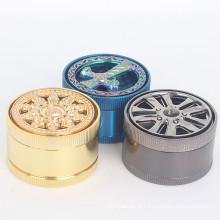 Grinder da liga de zinco da qualidade superior para o fumador do tabaco (ES-GD-043)