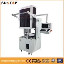 Dispositivos da marcação do laser do metal / máquina de marcação giratória do laser / gravador do laser do tubo