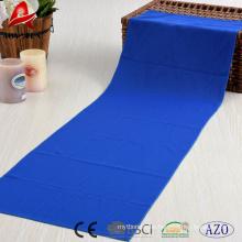100% poliéster China fábrica suministra la toalla de deportes de alta calidad de enfriamiento