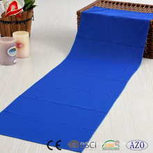 100% polyester China factory supplied top quality cooling sports towel
