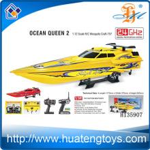 Atacado 2.4GHZ 1:12 Wireless RC bait barco à venda 550 tipo de motor CE Relatório de Teste Ocean Queen 2 H135907