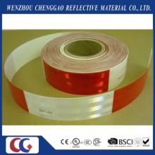 DOT C2 Rotes und weißes Diamant-Grad-reflektierendes LKW-Band