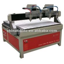 Máquina JK-1212-4 de la carpintería del ranurador del CNC