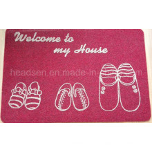 O mais popular Anti-Slip TPR Backing Door Mat