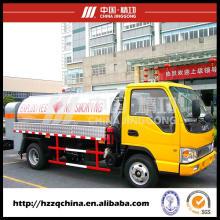 El fabricante chino ofrece el camión del tanque de aceite, camión especial (HZZ5060GJY) para los compradores