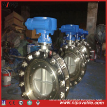 Flanged Triple Eccentric Butterfly Valve with Mating Bolt&Nut