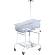 Прочная больница Пластиковые новорожденного ухода за ребенком кроватки кровати тележки