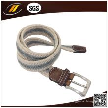 Cintos de Cintura Casual Masculina de alta Qualidade Tecido Trançado Forte Cinto