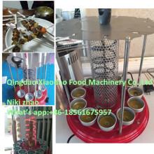 Máquina automática de rotação de grelha / máquina de grelha rotativa elétrica