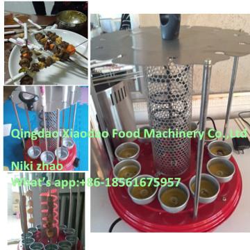 Machine rotatoire automatique de gril / machine rotatoire électrique de gril