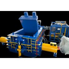 Prensa enfardadeira de sucata hidráulica automática para reciclagem de alumínio