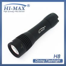 Hi-Max OEM Professional Diving LED Lampe de poche Cree T6 lumière de plongée de grotte
