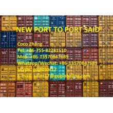 Foshan New Port Sea Freight vers l'Egypte Port Saïd