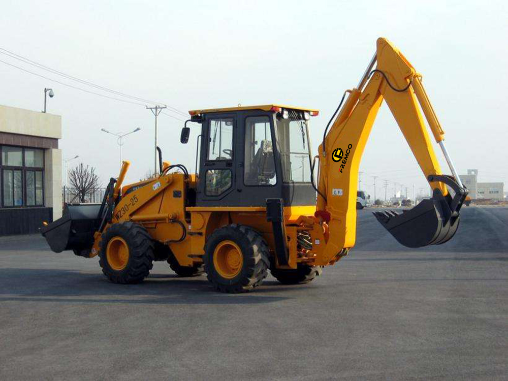 Backhoe Loader Operation