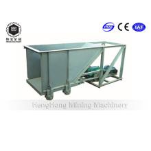 600 X 500 alimentador / alimentador de canal inclinado para mineral de mineral de carbón