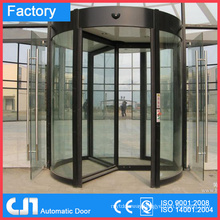 3 & 4 Wings Automatic Revolving Security Doors
