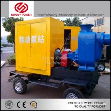 8inch Wasserpumpeneinheit mit Dieselmotor für Landwirtschaft Bewässerung