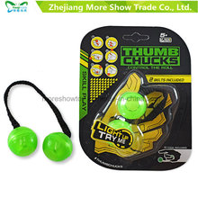 Hot Thumb Chucks Fidget Yoyo Luminous Begleri Glow in Dark Finger Toys