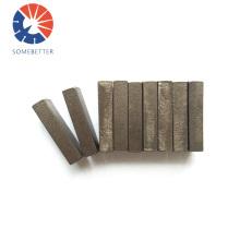 Diamond grinding segment for grinding concrete floor