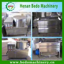 petite chaîne de production de croustilles de pommes de terre / machine à frites de pommes de terre à vendre