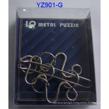 IQ Brain Metal Puzzle