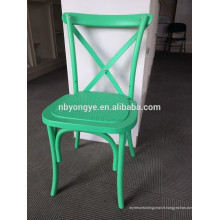 Chaise arrière empilable