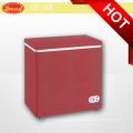 Color Commercial Single Solid Door Chest Freezer
