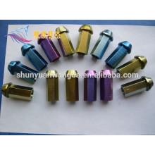 price of TA1,TA2,TA3 anodized titanium bolt
