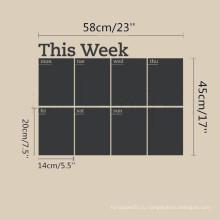 Оптовая Высокое качество Blackboard Vinyl Kids Chalkboard Стикер