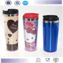 Vente chaude Starbucks Coffee Mug café gobelet tasse promotionnel en plastique Mug