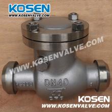 Válvula de retención oscilante final DIN Bw (H44)