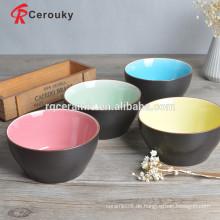 Essen und Trinken Sicherheit Keramik Salat Schüssel