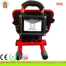 Luces de inundación solares recargables de 10W LED impermeables IP68