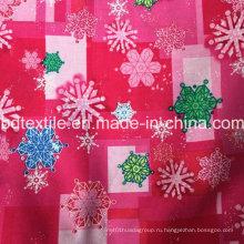 Знаменитый бренд Малый MOQ X'mas Holiday Украшение Снежинка Ткань Оптовая Рождественские товары