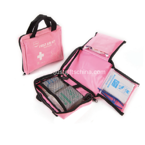 Promotional Nylon Colorful Car First Aid Kits