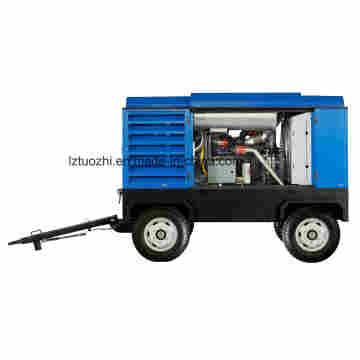 Compresor de Aire Diesel Atlas Copco-Liutech 748cfm 10bar